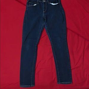 Denim - High Rise Skinny Jeans
